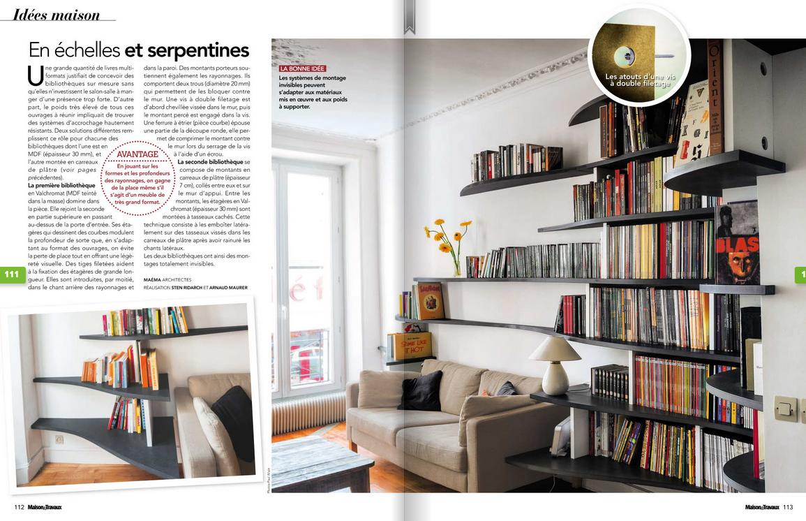 publication maison travaux mai 2013 ma ma architectes. Black Bedroom Furniture Sets. Home Design Ideas