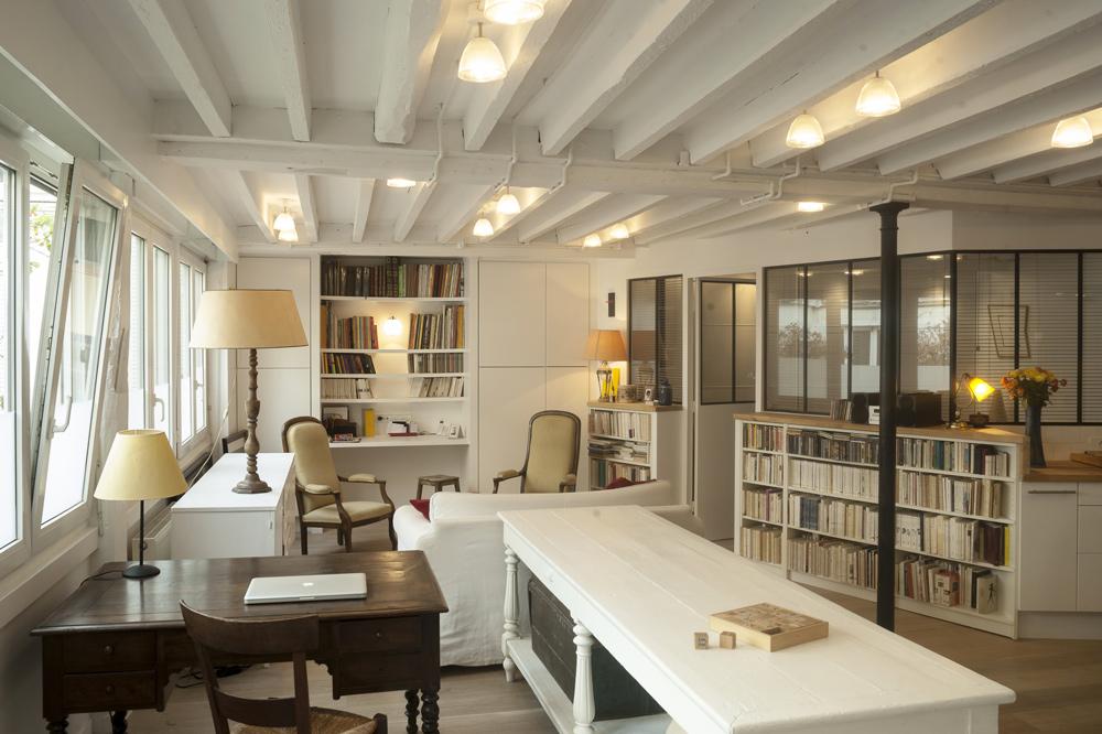 Appartement loft ouvert et lumineux - Appartement loft paris ...
