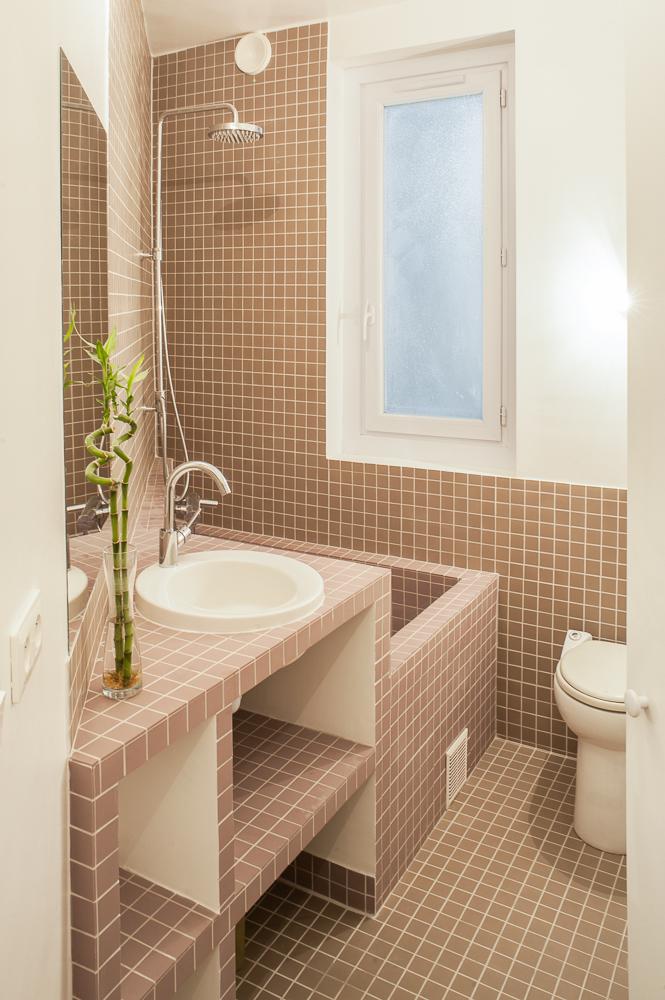 Appartement rottembourg ma ma architectes - Modifier salle de bain ...
