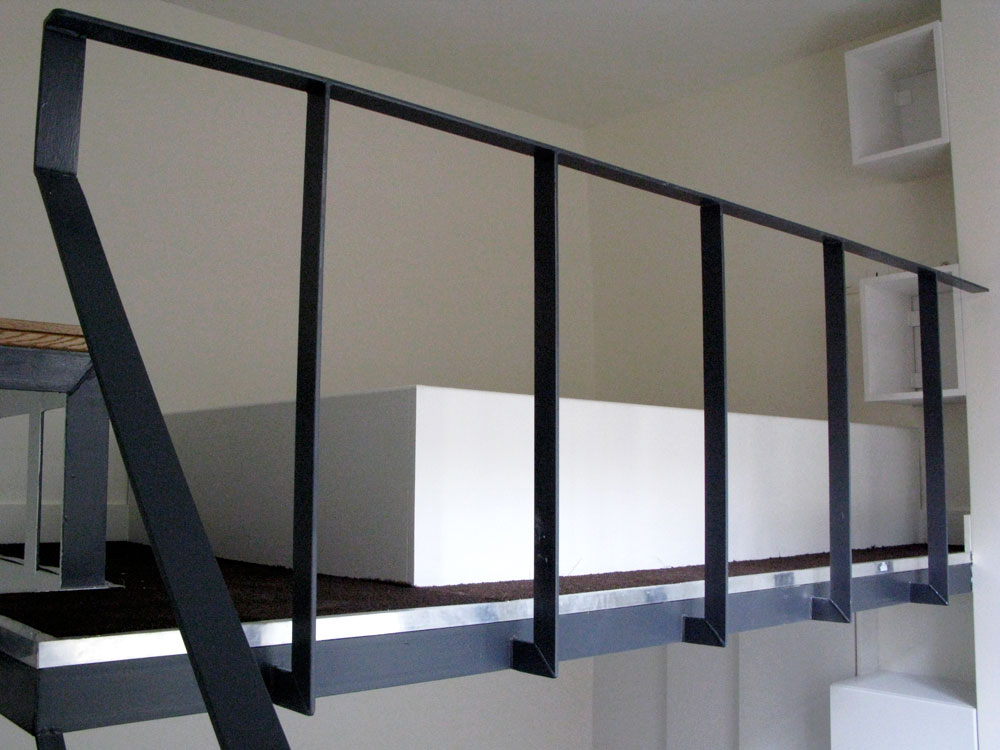 Chambre 84 toute en hauteur ma ma architectes - Garde corp metallique ...