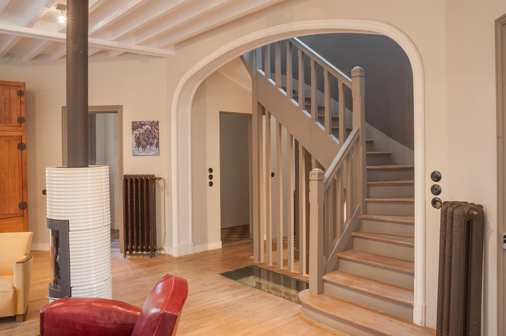 Maison mezlaf les travaux invisibles ma ma architectes for Extension maison salon