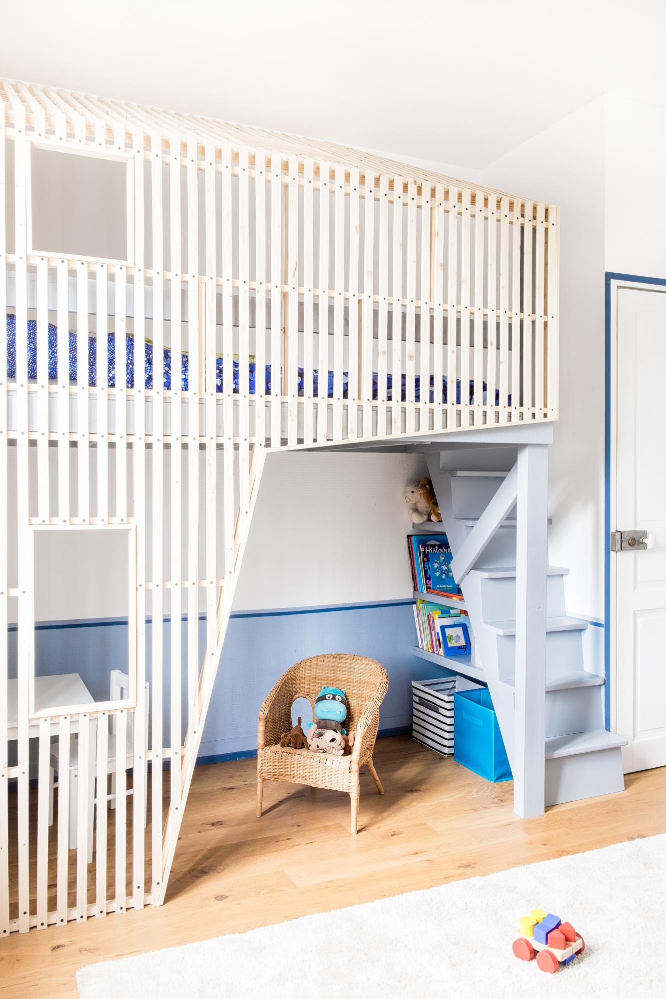 La cabane de marius ma ma architectes - Cabane enfant chambre ...