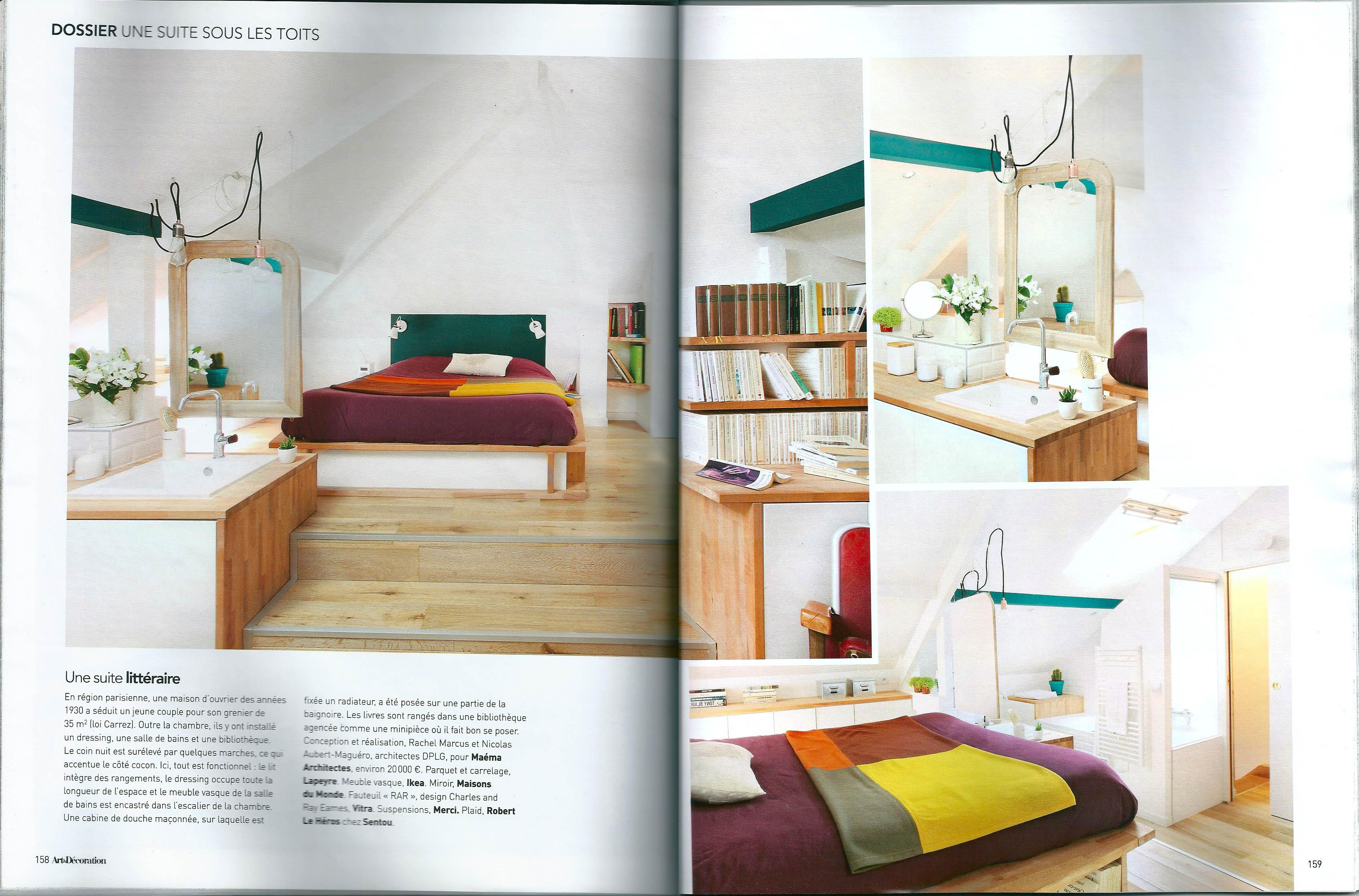 Magazine Art Et Décoration magazine: art & décoration - novembre 2014 - maéma architectes