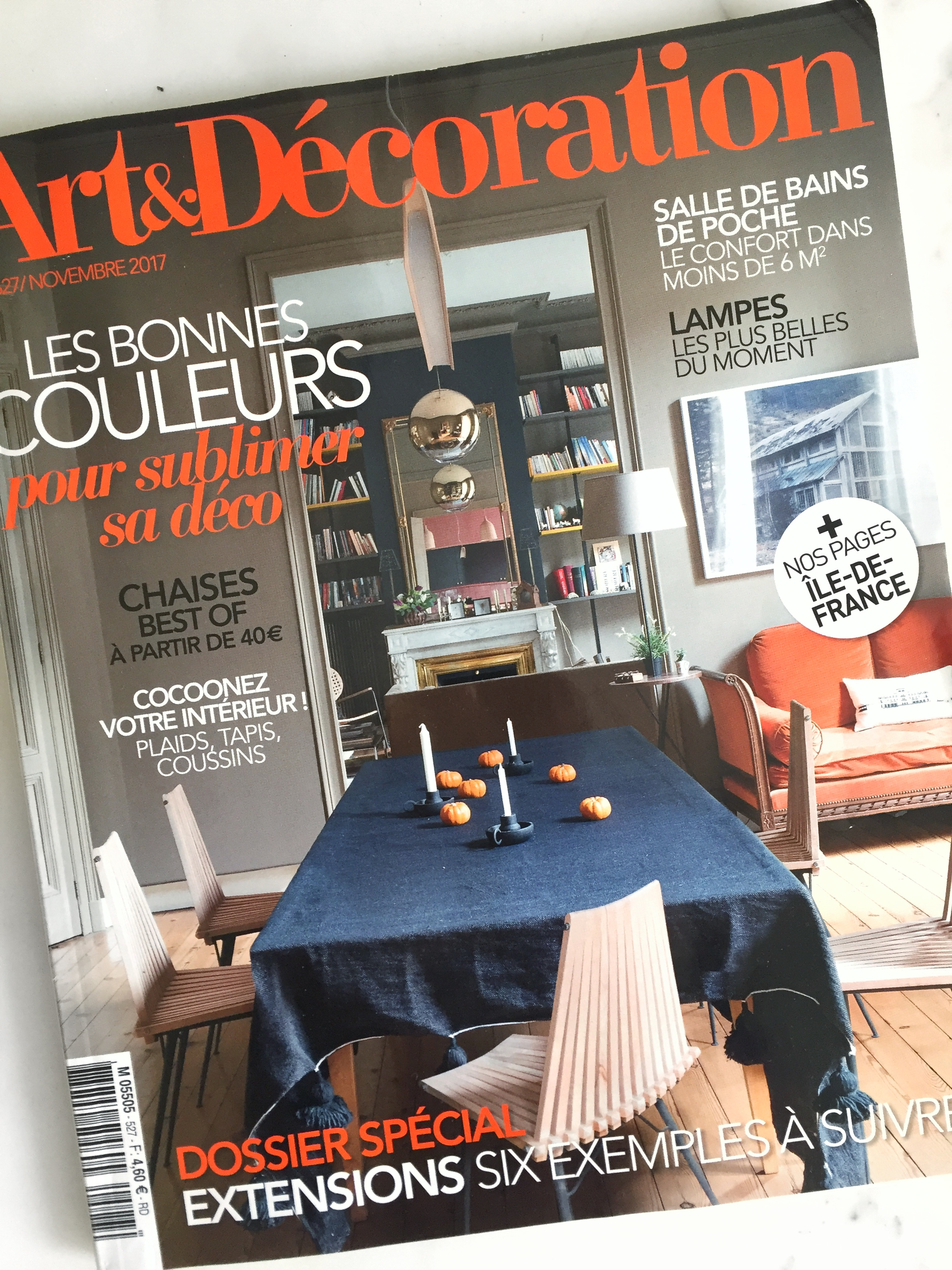 Magazine Art Et Décoration magazine: art & décoration - novembre 2017 - maéma architectes